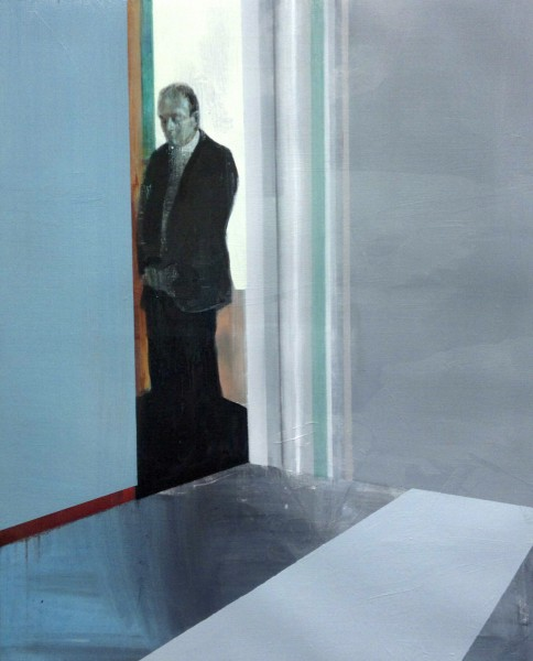 Kenneth Blom · The office · 2011 · 100 x 80 cm