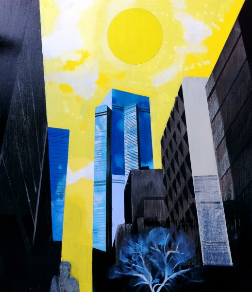 Kenneth Blom · New York · 2011 · 130 x 150 cm