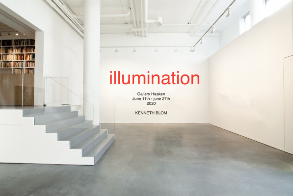 Kenneth Blom · Illumination. Gallery Haaken. Oslo · 2020