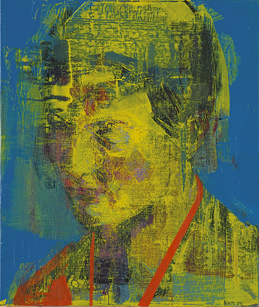 Kenneth Blom · Portrait · 2005 · 65 x 55 cm